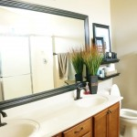 Bathroom Mirror Frame Remodel Raleigh Remodeling Company